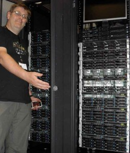 Majestic 12's Dixon Jones shows off new Teraflop Cluster