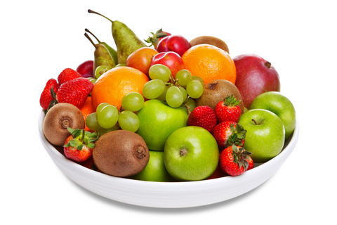 Collection of fresh fruit.