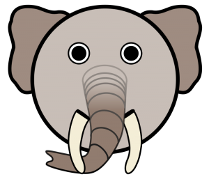 Open Source elephant-by-linuxien from Open Clip Art