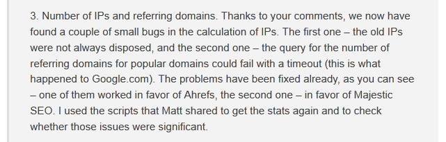 Quote from Ahrefs
