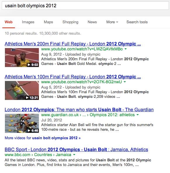Usain Bolt Olympics 2012
