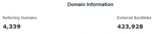 jimloans.co.uk Majestic SEO Dmain Information