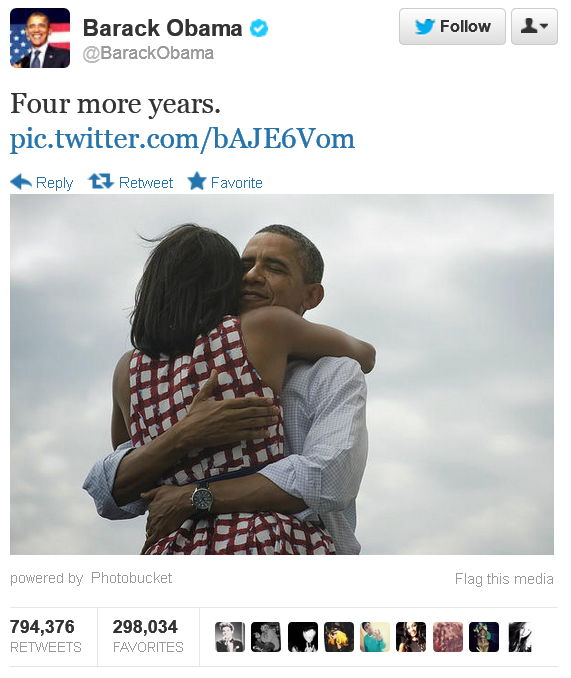 Obama Campaign's Proudest Day.