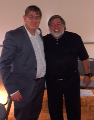 Dixon Jones & Steve Wozniak