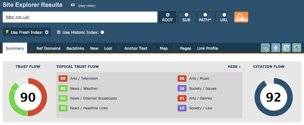 New: Topical Trust Flow - Full Web Categorisation -Majestic Blog