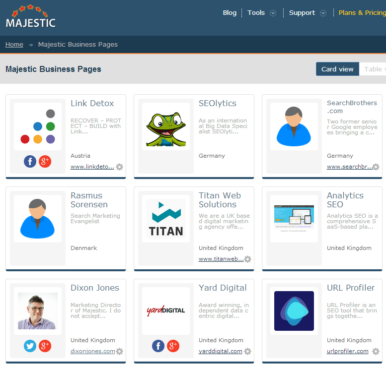 majestic-business-pages