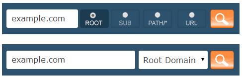site-explorer-options