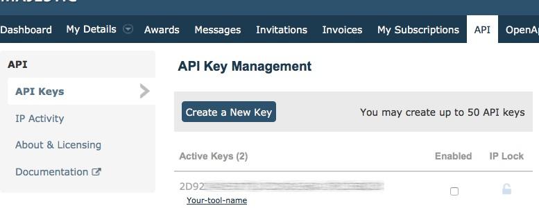 API Key Management
