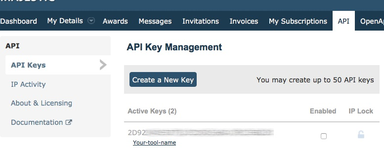 API-Key-Management