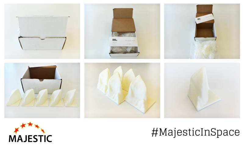 #MajesticInSpace
