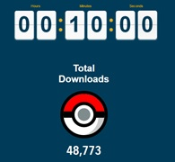 Pokemon go total downloads
