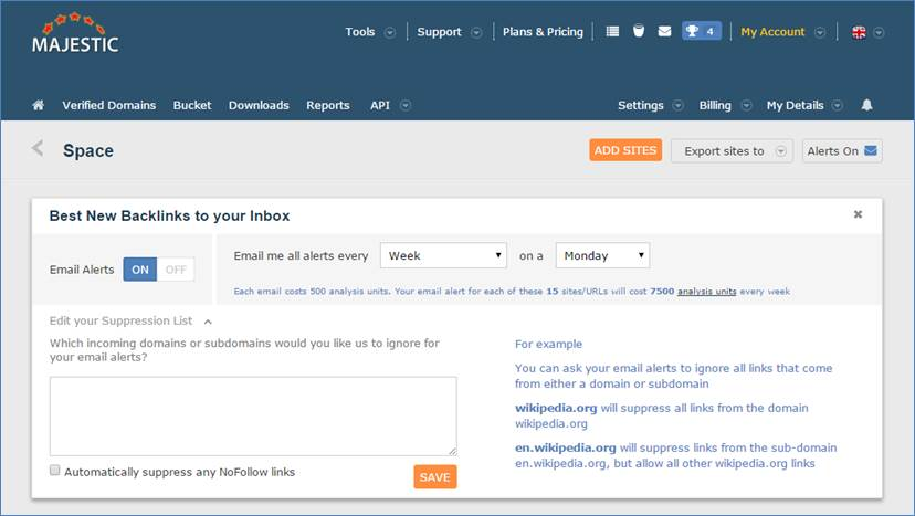 Image 3: How to set up suppression lists for each campaign