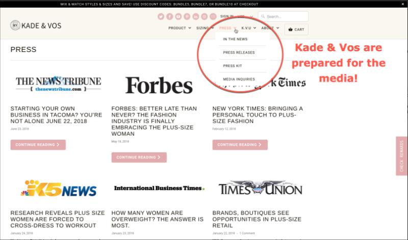 Kade & Vos Forbes New York Times