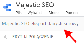This image has an empty alt attribute; its file name is 09.-Majestic-SEO-nazwa-źródła-danych-1.png
