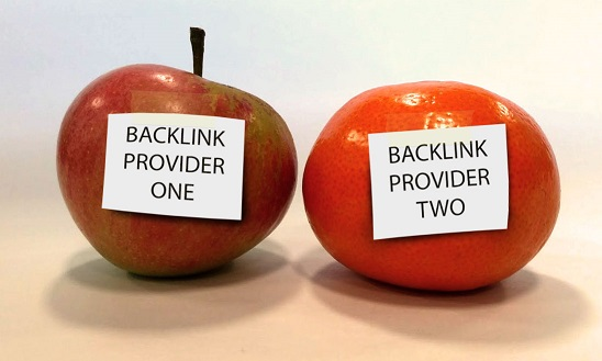 Is comparing backlink indexes like comparing apples and oranges?