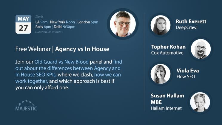 In-House and Agency Panellists join Dixon Jones's webinar.